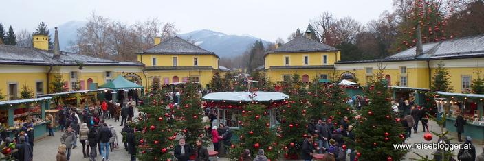 Weihnachtsmarkt in Hellbrunn