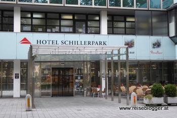 Hotel Schillerpark in Linz - Hoteleingang
