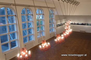 Installation Suzann Viktor beim Höhenrausch in Linz