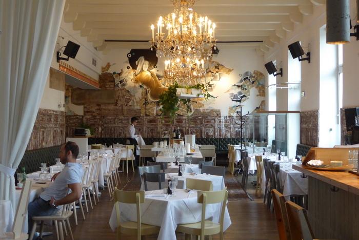 Speisesaal im Hotel Wiesler
