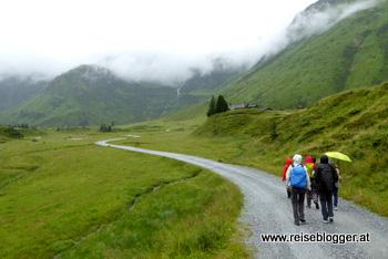 Wanderung zur Pottinger Hütte